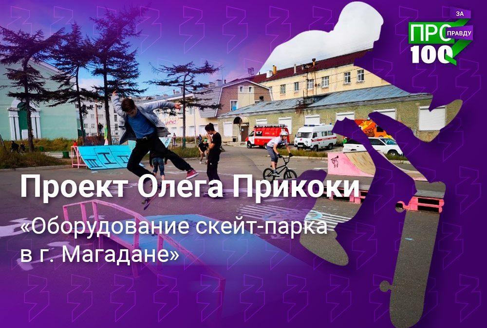 Проект «Оборудование скейт-парка в г. Магадане»