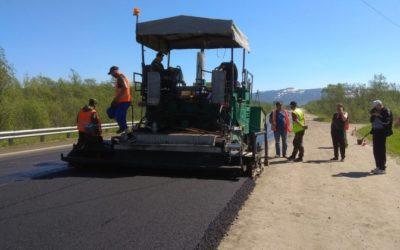 Реализация нацпроекта «Безопасные и качественные дороги» в Магаданской области